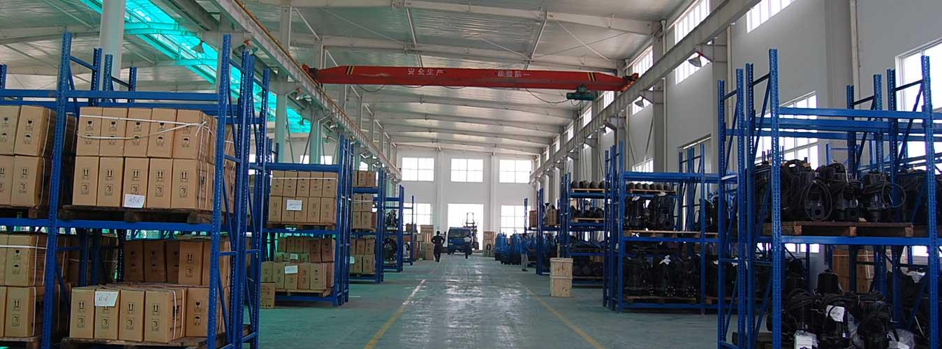Sewage-pump-finished-product-warehouse-1